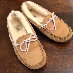 Women's Ugg moccasins size 8